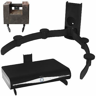 SKY VIRGIN BOX DVD XBOX ONE PS4 AV Universal Wall Mount Floating Shelf Bracket