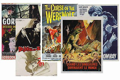 Hammer Horror - Set Of 5 - A4 Poster Prints # 3