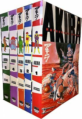 Katsuhiro Otomo Collection Akira Volume 1-5 Series 1 Manga Book 5 Books Set NEW
