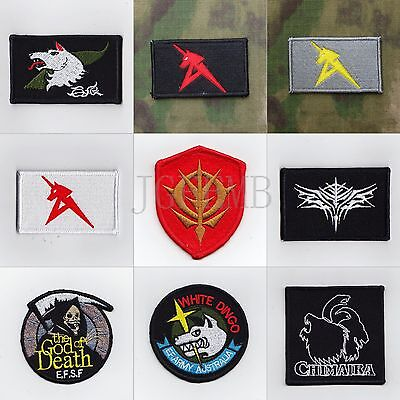 GUNDAM Military Tactical Morale Embroidery Patch Badges Series 3