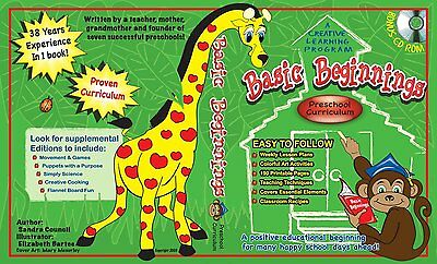 Basic Beginnings: Preschool Curriculum (2009, CD-ROM / Hardcover)