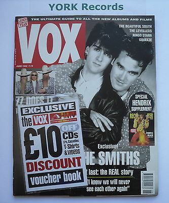 VOX MAGAZINE - Issue 21 June 1992 - The Smiths / Hendrix / ZZ Top