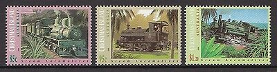 Christmas Island Locomotives 1994 - Mnh (G86-Rr)