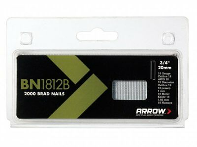 Arrow BROWN Head Brad/ Nails Pack 2000 20mm