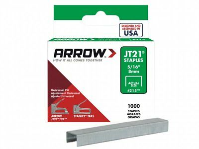 Arrow JT21 Staples Box 5000 - 5/16in