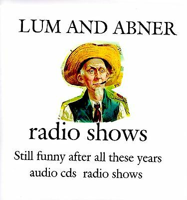 Bob Hope, Jack Benny, Lum and Abner 23 radio shows 4 audio cds set 6,