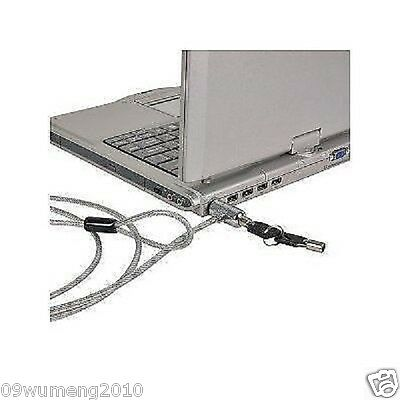 Notebook Computer Laptop Security Steel Cable Lock with 2 Keys