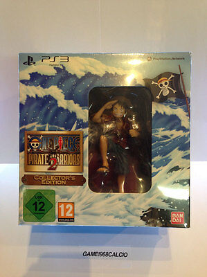 One Piece Pirate Warriors 2 Collector's Edition (Ps3) Nuovo Sigillato Game New