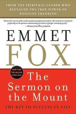 The sermon on the mount fox emmet new paperback book 1329 the sermon on the mount fox emmet new paperback book fandeluxe Images