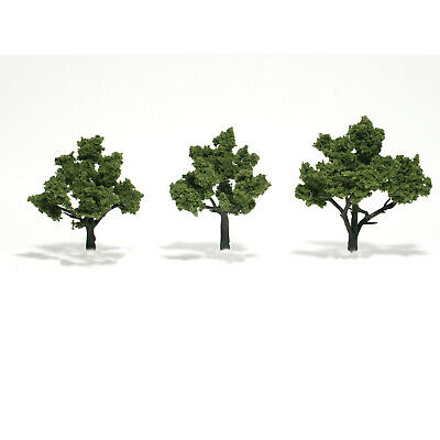NEW Woodland Scenics Assembled Tree Light Green 4  TR1506