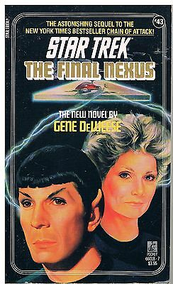 Star Trek: The Final Nexus / Gene DeWeese 1988