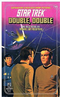 Star Trek: Double, Double / Michael Jan Friedman 1989
