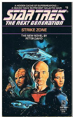 Star Trek The Next Generation Strike Zone / Peter David