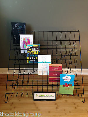 New - Planet Racks - Folding - 6 Tier - Counter - Greeting Card - Display Rack