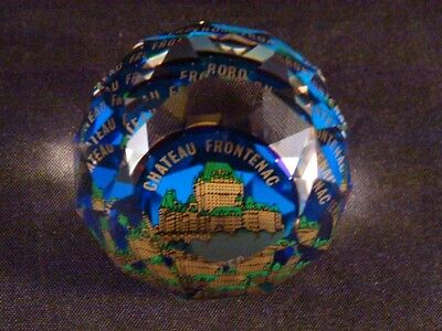 Swarovski PAPERWEIGHT RARE QUEBEC CANADA CHATEAU FRONTENAC