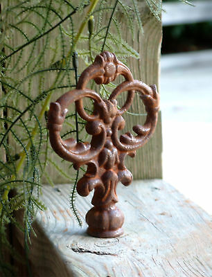 TEN VICTORIAN FINIALS Iron Cast  Wrought Garden Fence