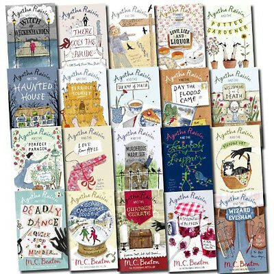 Agatha Raisin Series 20 Books collection Set Pack Quiche of Death NEW PB