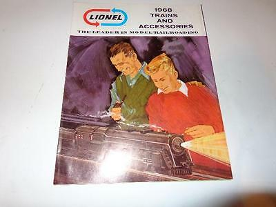 Lionel Post-War 1968 Fold Out Catalog- Brand New - W4