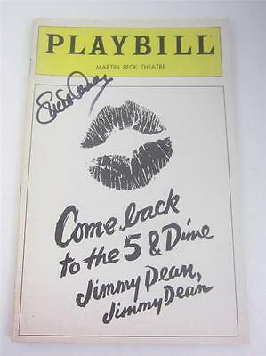 Playbill Come Back to the 5 Dime Jimmy Dean Cher 1982 Signed Lucie COA Lucille