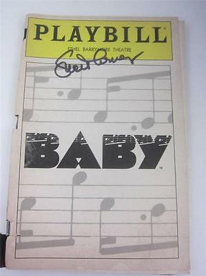 Orig Playbill Broadway Theater BABY 1983 Signed Lucie Arnaz COA Lucille Video