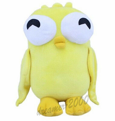 Disney Phineas and Ferb Yellow Duck Momo 3D Eye Plush Doll 10 inch Xmas Gift