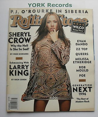ROLLING STONE MAGAZINE - Issue 747 November 14th 1996 - Sheryl Crow / Larry King