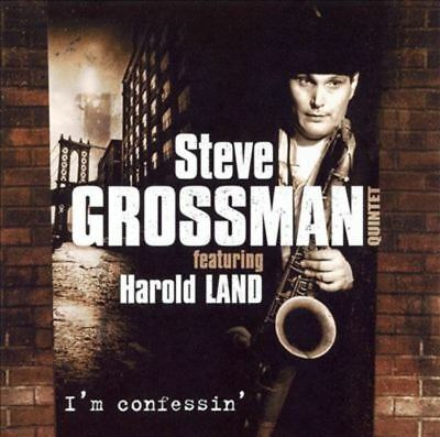 Grossman, Steve w. Jimmy Cobb - I'm confessin feat. HAROLD LAND CD NEU OVP