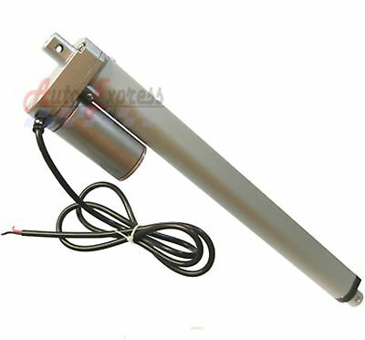 "Water Resistant Linear Actuator 12"" Stroke 225 Pound Max Lift 12V DC Heavy Duty"