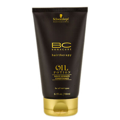 Schwarzkopf BC Bonacure Oil Potion Gold Shimmer Conditioner 5.1 oz / 150 ml