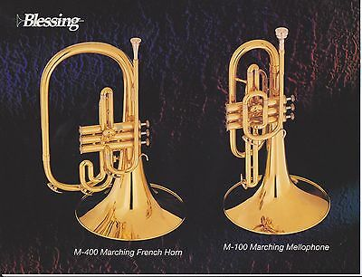 Vintage Ad Sheet #2247 - Blessing Marching French Horn - Mellophone