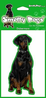 Doberman (b) Breed of Dog Fragrant Air Freshener - Perfect Gift