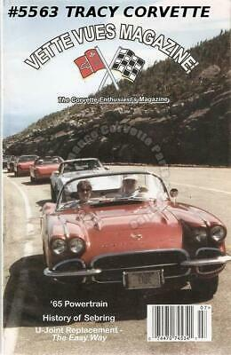 July 1999 Vette Vues History of Sebring 1965 Powertrain Rochester Fuel Injection