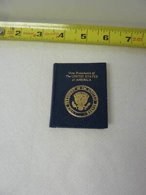 MINIATURE BOOK Celebration of Vice-Presidents of the United States,  Ward Schori