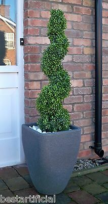 Best Artificial 3ft 90cm Topiary Spiral Boxwood Buxus Outdoor Tree Garden New