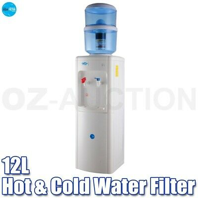 Aqua Filter 12L Floor Standing Hot & Cold Water Filter Purifier Dispenser Cooler