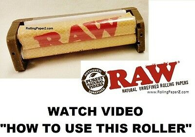 RAW HEMP PLASTIC 79mm Cigarette Rolling Machine New also with Spare Mat Included