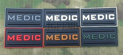 Call of duty  Military Tactical Medic Morale 3D PVC Patch Badges
