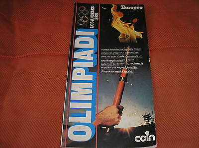Olimpiadi Los Angeles 1984 Olympic Games Speciale L'europeo