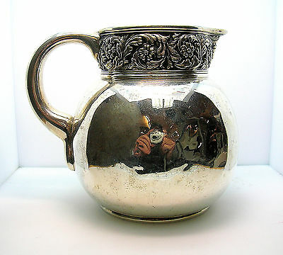 "Antique Tiffany & Co. Sterling Silver Pitcher - ""m"" Mark - 438.25 Grams - Nice"