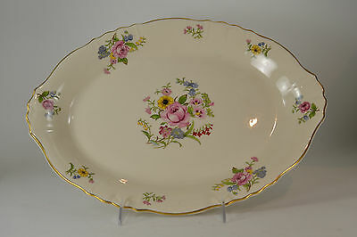 "Vintage Syracuse China Federal Shape Platter 16"" x 12"" Made in America"