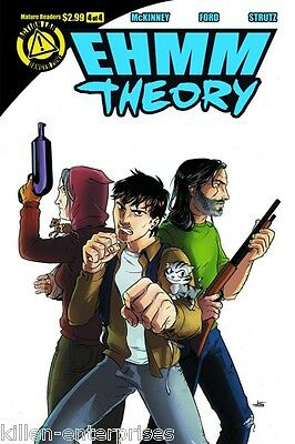 Ehmm Theory #4 (of 4) Comic Book 2013 Danger Zone - Action Lab