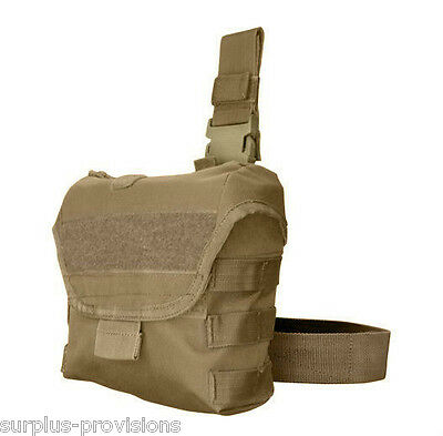 Condor MA38 Drop Leg Dump Pouch - Tan - Quickly store discarded mags