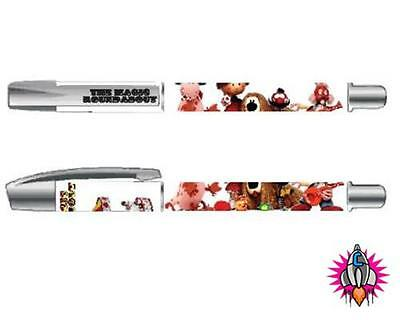 THE MAGIC ROUNDABOUT CHARLIE BROWN SNOOPY NEW GEL PEN SET OF 2