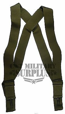 M1950 Military Issue Army Trouser Suspenders New Surplus Lot of 2
