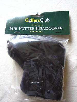 Wholesale Job Lot of 12 Classic Blade Golf Putter Head Covers Navy Fur New