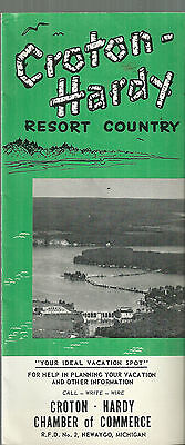 Croton Hardy Resort Country Brochure Michigan Newaygo Howard City Morley