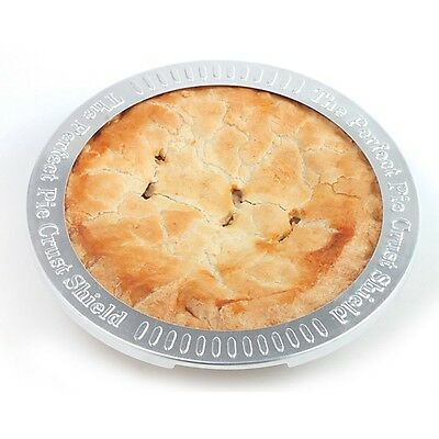 Norpro 3276 Perfect Aluminum Reusable Pie Crust Shield 9""