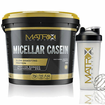Matrix Micellar Casein Protein Slow Release Muscle Gain Anabolic Strength