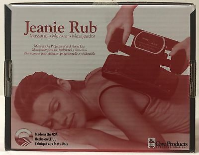 Jeanie Rub 3401 Variable Speed Professional Full Body Massager NEW IMPROVED