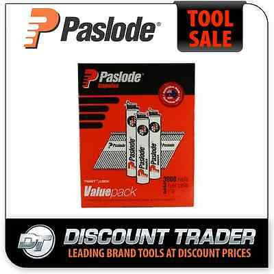 Paslode Impulse Collated Nails 75mm x 3.06mm Bright BRT VP - B20547V